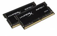 Оперативная память  Kingston 32 GB HyperX 2400MHz DDR4 CL14 SODIMM Impact - HX424S14IBK2/32