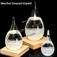 Темп штормгласс падение прогноз погоды капли воды форма кристалла прогноз погоды кристаллоидного декор