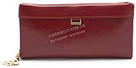 Стильный красный горизонтальный женский кошелек FUERDANNI art. 8103, фото 1