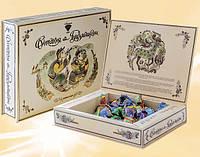 Шоколадные конфеты в презентабельной коробке Приветствие с Гуцульщины 500 г