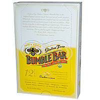 Bumble Bar, Organic Sesame Bar, Lushus Lemon, 12 Bars, 1.4 oz (40 g) Per Bar
