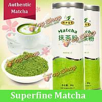 Аутентичными тончайший порошок Матча зеленый чай Матча консервы для резервного чай