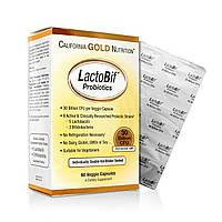 Пробиотики, California Gold Nutrition, 30 млд, 60 капсул