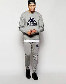 Мужской Спортивный костюм Kappa серый