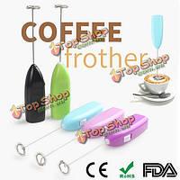 Моды электрический кофе яйцо смеситель Шейкер венчиком кофе пенообразователем яйцо насадка для взбивания