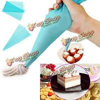 Л силикона многоразового торт трубопроводы сумка для инструментов обледенения крем печенья украшения