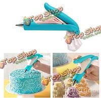 Fondant Cake украшая рот кондитерский сахар ремесло инструменты для украшения