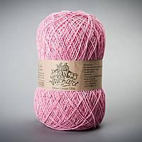Пряжа хлопок 1200 ТМ Vivchari 022 розовый