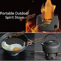 Портативный открытый мини-печь дух горелки для BBQ походов кемпинга