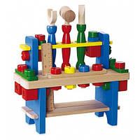 Развивающая деревянная игрушка Верстак Baby mix