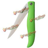 4-дюймов складная двуокись циркония керамические кухонные фруктовые овощные режущие инструменты ножа