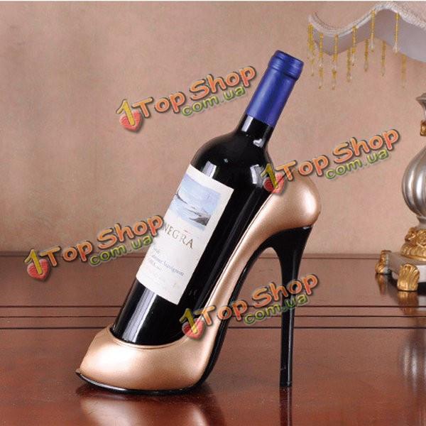 Творческие высокие каблуки красные вина держатель ремесла diy стол для столовой дома украшения - ➊TopShop ➠ Товары из Китая с бесплатной доставкой в Украину! в Киеве