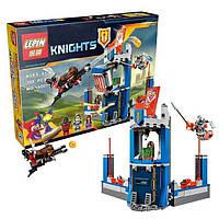 "Детский конструктор Lepin 14007 Nexo Knight (аналог Лего) ""Библиотека Мерлока"", 308 дет"