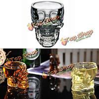 100мл умница стеклянная чашка ясный череп водка виски чашка