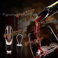 Pourers из нержавеющей стали вина вино бутылка Воронка выливная захоронения вина пробки подключить панели инструментов