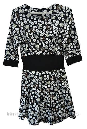 Платье женское ромашки