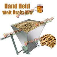 Ручной солод зерна мельница домой брага машина