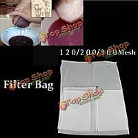 Пищевые Chinlon рукавный фильтр самогон чай фруктовый сок фильтровальные мешки