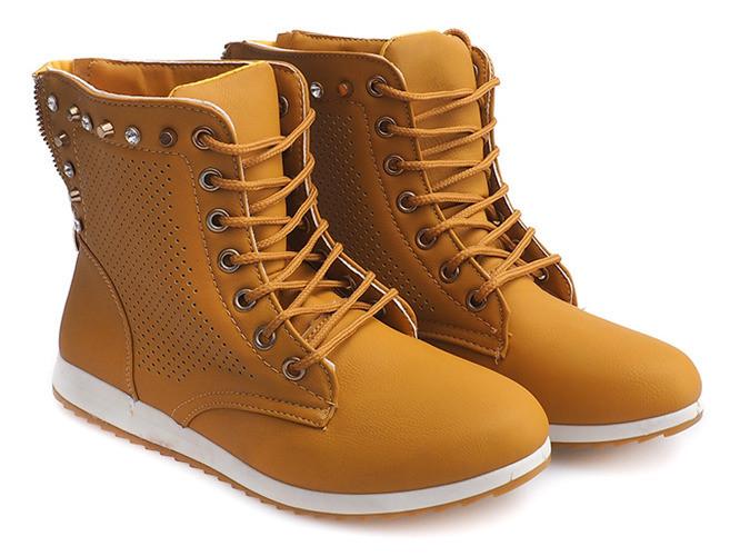 Женские ботинки Rudolf  camel