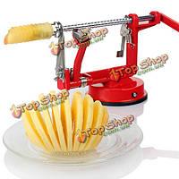 3в1  Apple обтяжку машины пилер бур slicer резца картофеля фруктов
