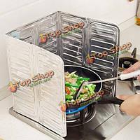Кухня масло брызговик газовая плита плита удаления масла ошпаривают доказательство доска инструмент кухни