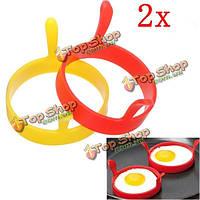 Кухонное устройство яичницы-глазуньи силикона круглое кольцевое моделирование формы повара