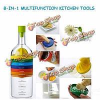 Форма бутылки 8-в-1 многофункциональный кухонный инвентарь