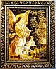 Икона Ангел в теплых тонах