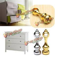 Алюминиевая мебель ручки ящик шкаф ручки прочного элегантные дверные ручки-скобы