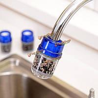 Мини-активированный уголь бытовой домашний кухонный кран инструмент чистой воды очиститель кран фильтрации патронный фильтр