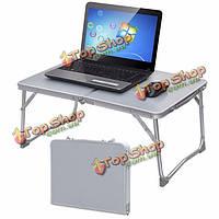 Портативный пикник кемпинг складной стол ноутбук стол поднос ноутбук кровать