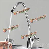 Хромированная отделка фильтра для воды кран одной ручкой питьевой воды кран