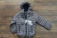 Демисезонная куртка на синтепоне для мальчиков 1- 2 года