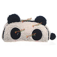 Панда мягкий плюш пенал пера карманное косметическое макияж мешок