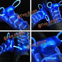 Круто LED светящиеся шнурки мигать свет светящийся шнурок ДИСКО партии поставок