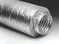 """Воздуховод гибкий изолированный 6""""-152мм (7,6 м.п.)"""