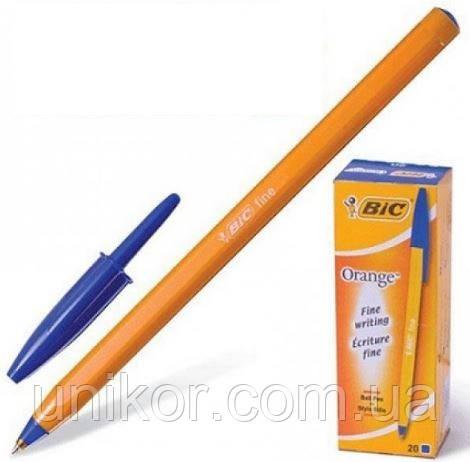 """Ручка шариковая """"Orange"""", корпус оранжевый, стержень синий. BIC"""