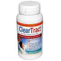 ClearTract, Urinary Tract Formula, Potent Cranberry Alternative, 500 mg, 60 VCaps