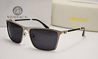 Мужские солнцезащитные очки Versace 4288 серебро