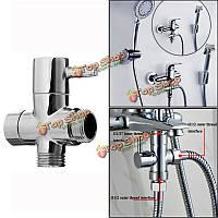 G1/2-дюймов угол ванной комнаты клапан для воды сепаратора душ переключатель переключающий клапан душевой головкой