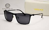 Мужские солнцезащитные очки Versace 4288 черный цвет