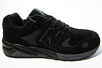Мужские кроссовки New Balance,кожа/замша, кожа