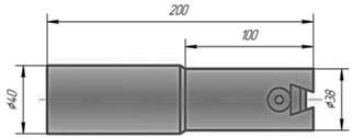 Оправка расточная D=40-63мм ,с цилиндрическим хвостовиком - Измерительный и металлорежущий инструмент в Киеве