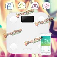 Цифровой жир тела поддержки электронные весы Шкала yunmai haoqing мини смарт весом а такжеroid And IOS Bluetooth
