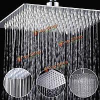 8-дюймов нержавеющей стали ванной площадь серебро давление осадков душем хромированной отделкой