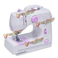 8 стежков многофункциональный электрический оверлок швейная машина бытовые швейные инструмент с LED