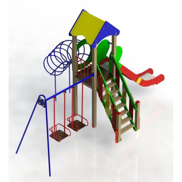 Детские игровые площадки из металла