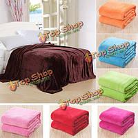 150x100см фланелевая диван-кровать мягкие коралловые флис постельное белье статьи