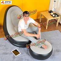 Цзилун портативный стекаются быстро надувные кровати ленивый диван сна ступил подушки дома сад мебель