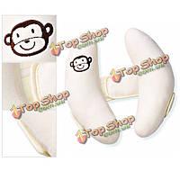 Ребенок малыш голова шея поддержка ребенка автокресло подушка тележки регулируемая по уходу за ребенком шеи